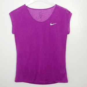 3/$25 Nike Athletic Top Purple Size Small